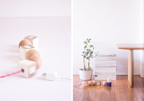 sculptural power strip