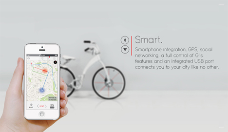 smart connected ebike