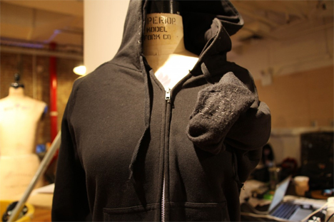 smart hoodie communication tool