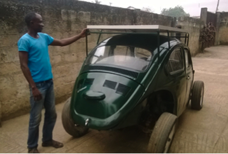 Student Built Solar And Wind Powered Car For Just 6 000