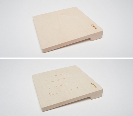 touch pad number pad
