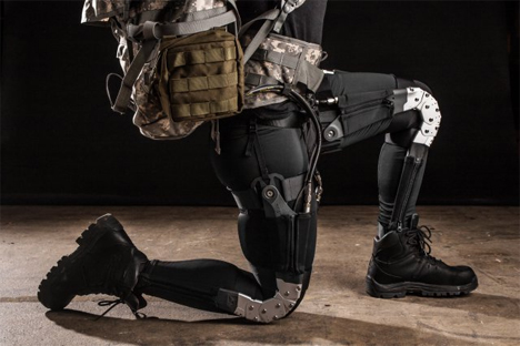 warrior web exoskeleton