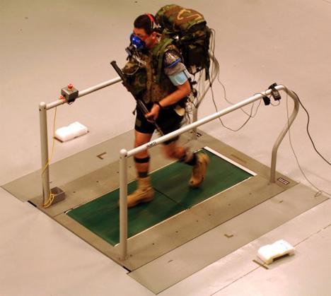 warrior web treadmill test
