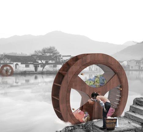 water wheel washing machine