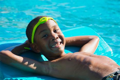 wearable pool safety headband