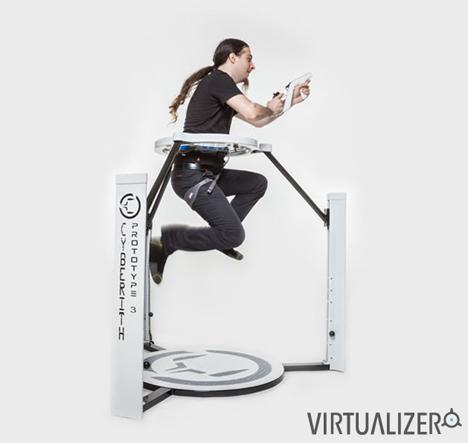 360 degree gaming locomotion platform