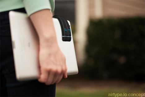 airtype keyboardless keyboard