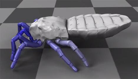 ancient arachnid animation