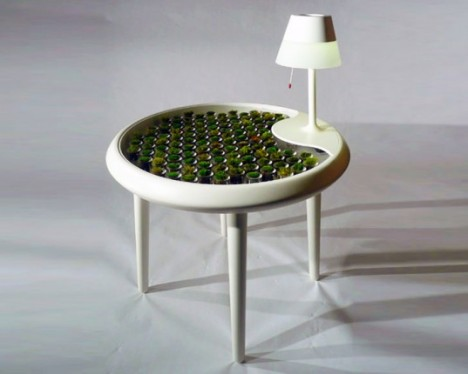 biophotovoltaic moss table prototype