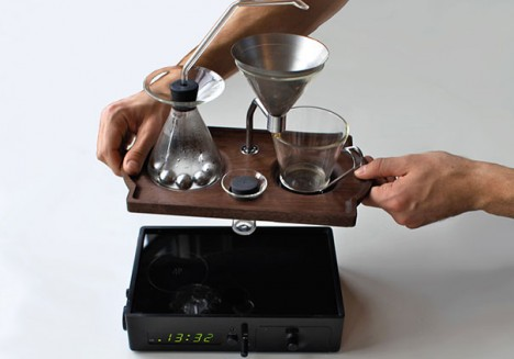 coffee making kit apart