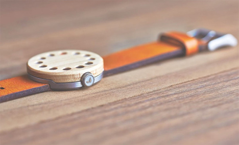 elegant wood watch