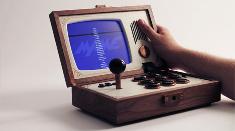 Handmade Wooden Arcade Cabinet is Equal Parts Art + Tech | Gadgets ...