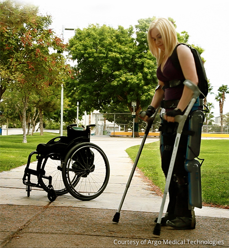 exoskeleton rewalker