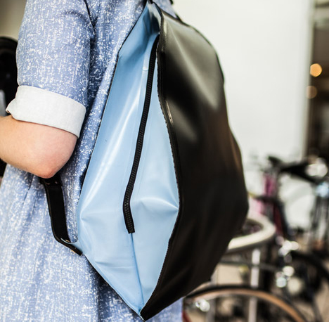 fugu inflatable bag protects electronics