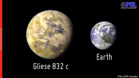 gliese 832c exoplanet