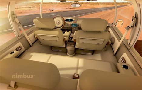 interior nimbus e-car