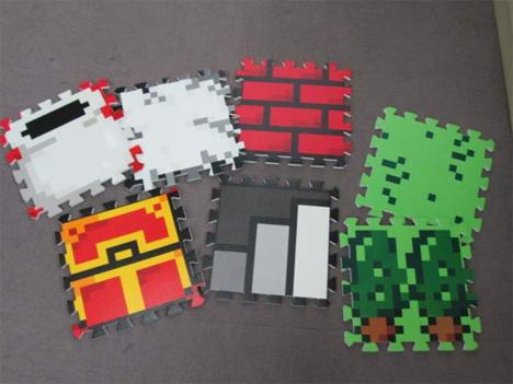 jbox video game quest mats video game flooring
