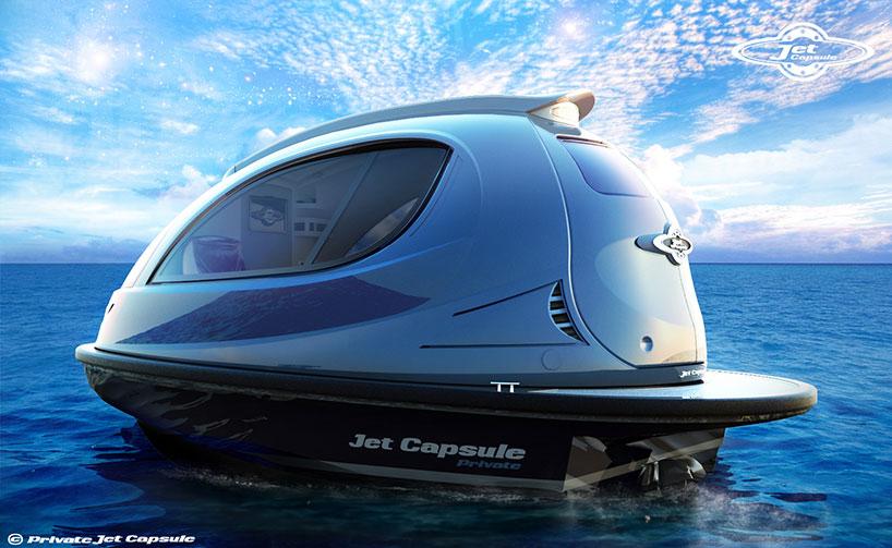 Agile Micro Yachts Adaptible Jet Capsules As Water