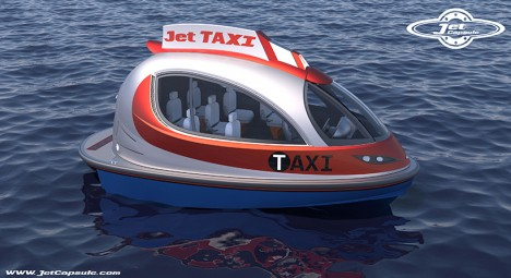 jet taxi side view