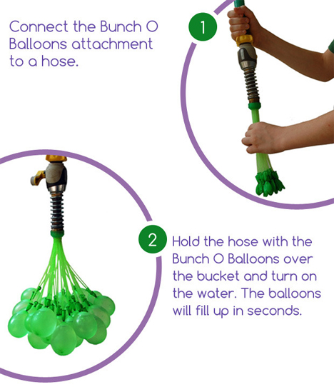 kickstarter rapid water balloon filler