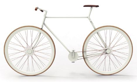 kit bicycle side view