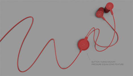 manual pressure adjusting earbuds