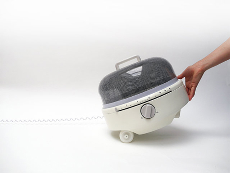 microwave with wheels