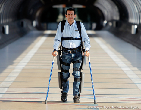 paralyzed people walk rewalker exoskeleton