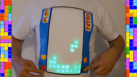 playable tetris t-shirt