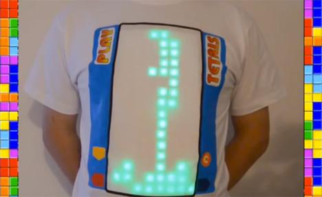 playable wearable t-shirt
