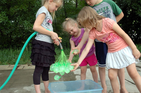 rapid water balloon filler