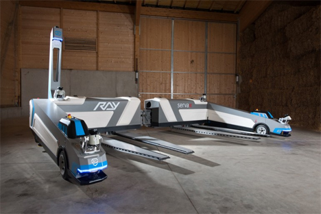 ray robotic car parking system