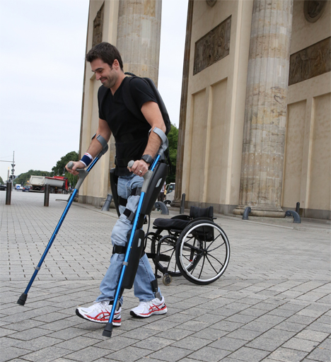 rewalker mechanical exoskeleton
