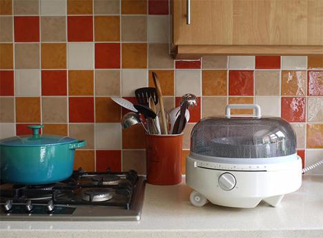 simplified portable microwave mediumwave design