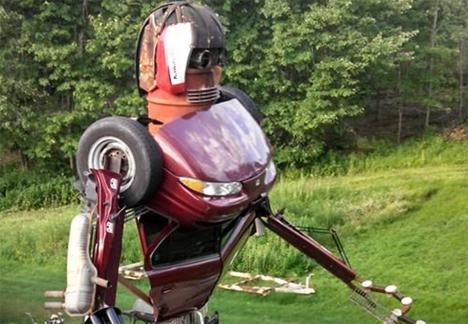 transformer sculpture