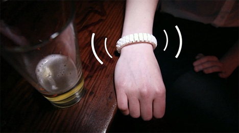 vive vibrating safety wristband