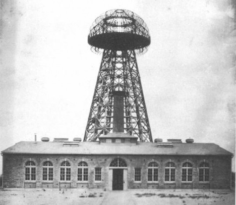 wardenclyffe tower nikola tesla