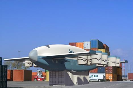 VTOL cargo plane