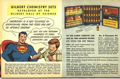 chemistry set ad