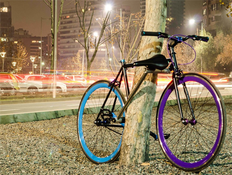 chilean engineers unstealable bike