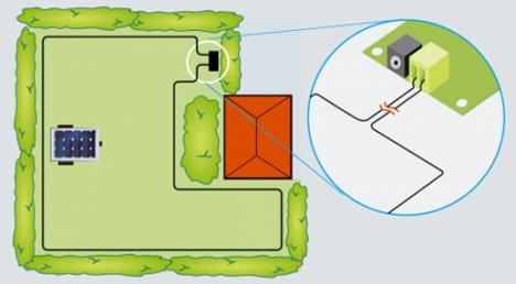 diy solar powered robot lawnmower