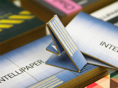 fold up usb business card