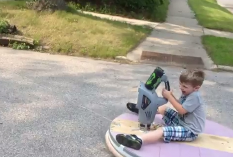 fun homemade hovercraft