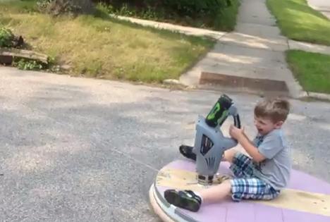 fun homemade hovercraft