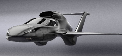 gf7 transforming flying car