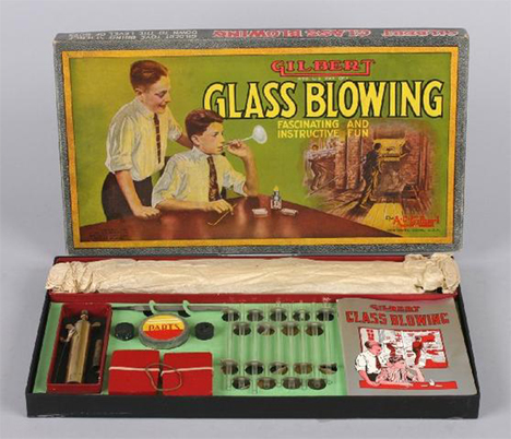 gilbert glassblowing kit for kids