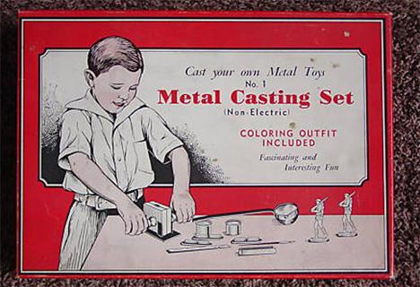 gilbert metal casting set