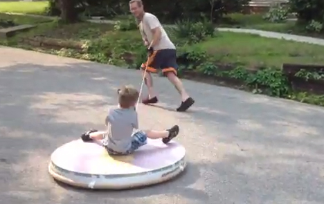 homemade hovercraft toy