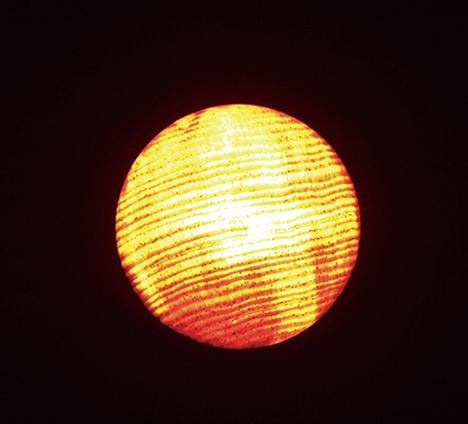 lighted wooden led light bulb