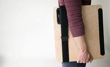 lightweight portable folding standing desk